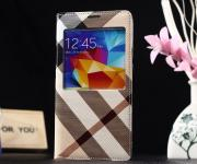 Луксозен калъф за Samsung Galaxy S5 G900 Burberry style